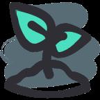 Icono planta germinando